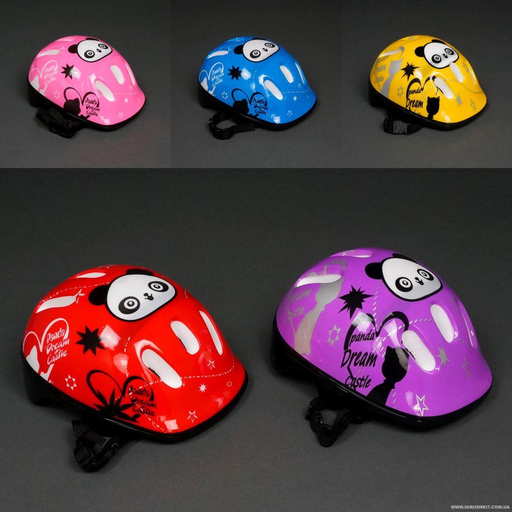 Защитный детский шлем панда 5 цветов  779-124