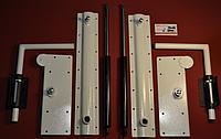 Механизм  для шкаф-кровати 500N-1300N белый