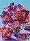Схема для вышивки бисером POINT ART Весенние цветы, размер 26х35 см