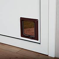 Trixie TX-38603 дверца для кота 2-Way Cat Flap (21 × 21 см,2 магнита)