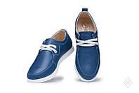 Женские  кожаные туфли-мокасины низкий ход