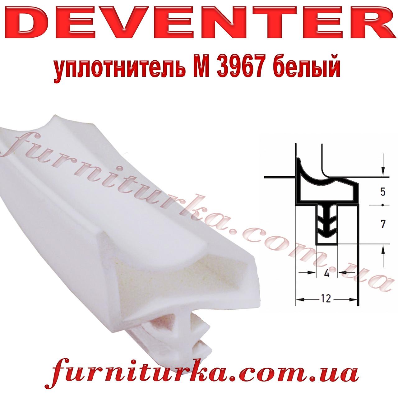 Уплотнитель дверной Deventer M3967 белый