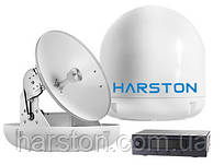 Морская спутниковая ТВ антенна для яхт Harston SpeedTrack S6 HD, 60см, с поддержкой HD каналов
