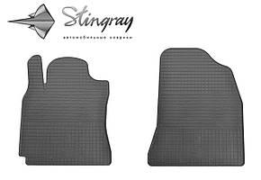 Chery Tiggo Т21 2014- Комплект из 2-х ковриков Черный в салон