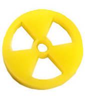 Жетоны, токены, каунтеры Радиация, 20 шт  (Acrylic tokens Radiation, 20 pc)