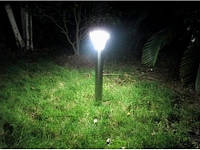 Газонный светильник LED на солнечной батарее с датчиком движения