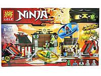 "Конструктор Lele 79349 Ninja (аналог Lego Ninjago 70590) ""Боевая площадка для аэроджитцу"" 694 деталей"