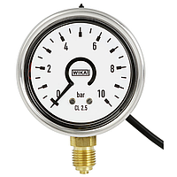 Деформационный манометр с трубкой Бурдона и с электронным переключателем давления модель PGS25