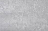 Самоклейка, PATIFIX, листья, цветы, светлый, серый,  витражная для стекол, 45 cm