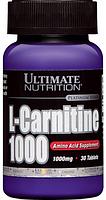 Ultimate Nutrition L-Carnitine 1000, 30 таб.