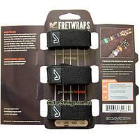 Gruv Gear FW-3PK-SM FretWraps String Muters 3-Pack Black Small