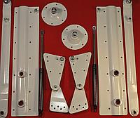 Механизм трансформации для стол-кровати белый