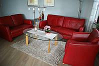 Комплект кожаной мебели, 3+2+1+1