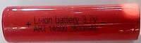 Аккумулятор AW IMR 14500 red