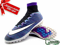Сороконожки Nike Mercurial (бампы, найк меркуриал) купить с Гарантией X Superfly ProXimo