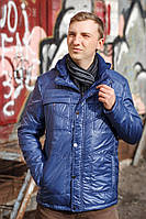 """Демисезонная куртка """"Канада"""" - 234 голубой"""