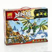 Конструктор Ninjago Зеленый Дракон  LELE 79345 (аналог Lego 70593) 597 деталей