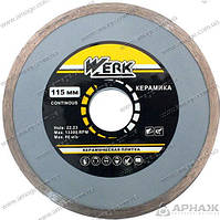 Алмазный круг Werk Ceramics 1A1R 115*5*22.225 WE110120