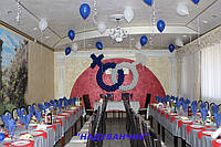 Оформлення весілля повітряними кульками
