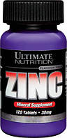 Ultimate Nutrition ZINC 30 mg 120 таб.