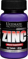 Ultimate Nutrition ZINC 30 mg 120 таб.