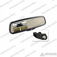 Зеркало с монитором Gazer MM707 BMW. Peugeot. Ford Kuga. Land Rover. Porsce