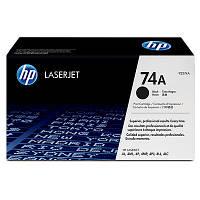 Картридж HP 74A (92274A), Black, LJ 4L/4ML/4P/4MP, OEM (вскр. упаковка)