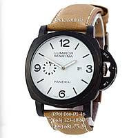 Мужские кварцевые часы Panerai Luminor Marina Quartz Brown-Black-White