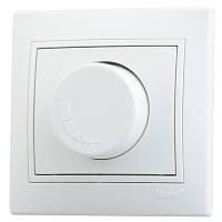 Светорегулятор с фильтром и предохранителем Mira 500 Вт 701-0202-117 белый