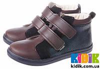 Демисезонные ботинки для мальчика Mrugala 5114-60