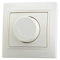 Светорегулятор с фильтром и предохранителем Mira 500 Вт 701-0303-117 кремовый