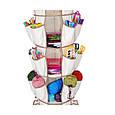 Система хранения одежды и обуви Smart Carousel Organizer на 3 ряда, фото 3