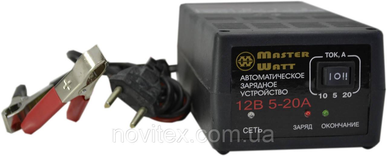 Автоматическое зарядное устройство Master Watt 20А 12В