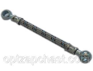 Топливопровод в металлооплетке угольник Ф10 L=0.4м