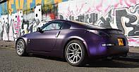 Matt Purple / Black Iridescent, матовый фиолетово-черный хамелеон , фото 1