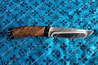 Нож охотничий  Кап Береза+чехол из кожи Элитная серия