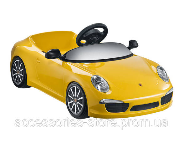 Детский электромобиль Porsche 911 Carrera, yellow