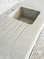Кухонная мойка из кварца Сaesarstone 5110 Alpine Mist