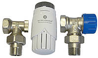 Комплект термостатический Schlosser угловой GZ1/2 x GW1/2 (602200001)