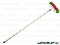 Щетка для мытья машины ZAMBAK (6 рядов)с ручкой 110см