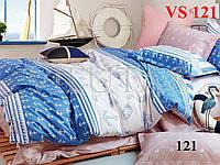 Постельное белье, полуторка, сатин, Вилюта (Viluta)  VS 121