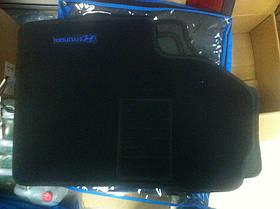 Ковры текстильные в салон Hyundai i-10 2008- (Ciak ML черн. флок) (5шт/комп.)
