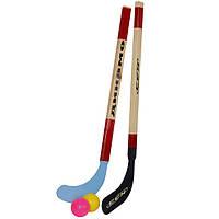 Хоккей на траве (2 клюшки, 2 шарика)