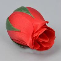 Бутон розы 5см красный Цветы искусственные
