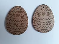 """Набор заготовок """"Яйцо 8"""", 8*6*0,6 см, 2 шт, ДВП, ROSA Talent, 2806040"""