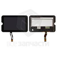 Дисплей для планшета Toshiba  Thrive 7, черный, с сенсорным экраном