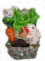 Фонтан для дома кролики