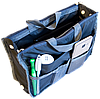 Органайзер для сумки ORGANIZE украинский аналог Bag in Bag (серый), фото 3