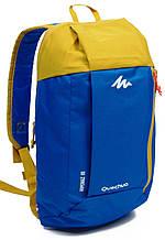 Рюкзак Quechua ARPENAZ 10 л. 2187433 синий с желтым