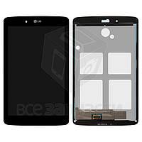 Дисплей для планшета LG G Pad 7.0 V400, черный, с сенсорным экраном